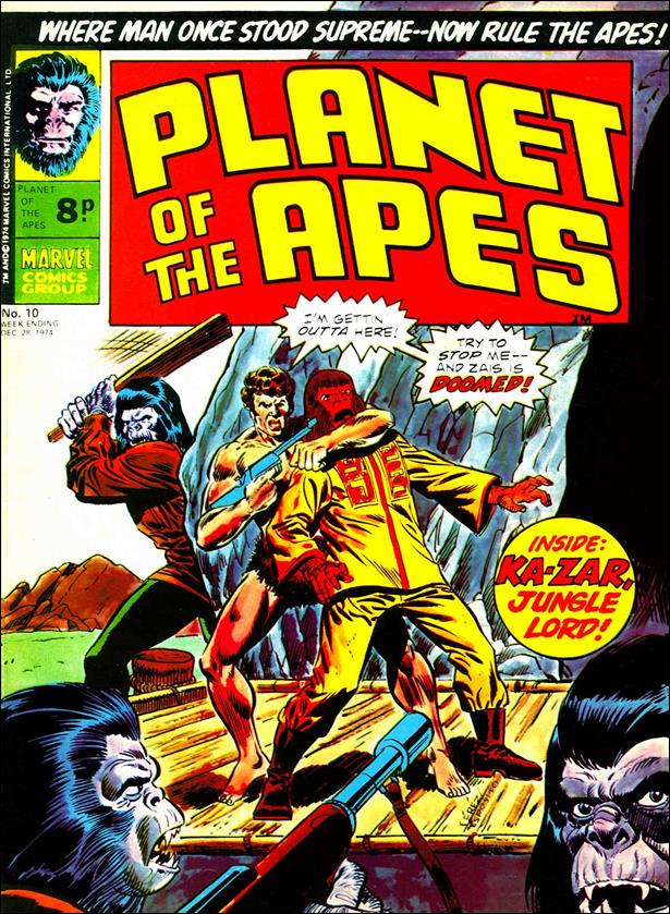 Planet of the Apes (UK) (1974) 10-A by Marvel UK
