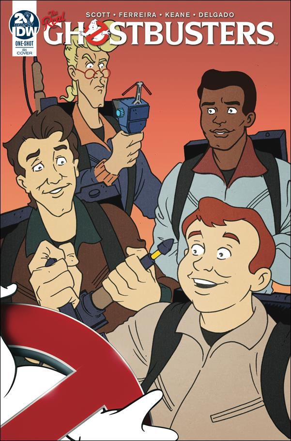 Ghostbusters 35th Anniversary: The Real Ghostbusters One-Shot-B by IDW
