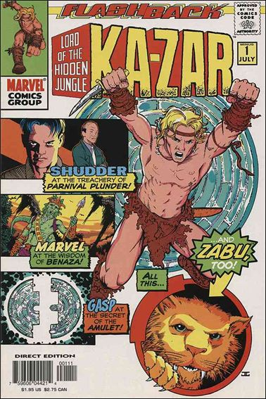 Ka-Zar (1997) -1-A by Marvel