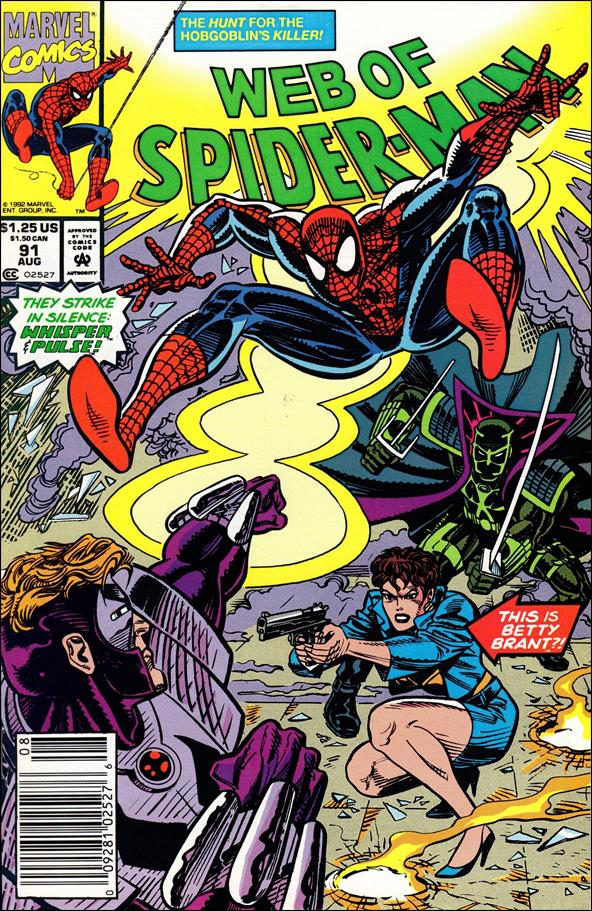 Web of Spider-Man (1985) 91-A by Marvel