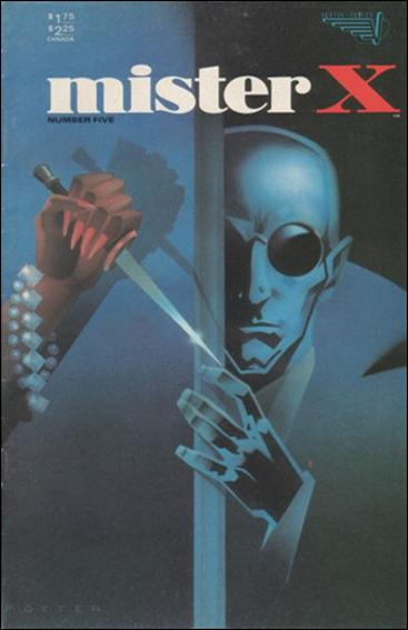 Mister X (1984) 5-A by Vortex Comics