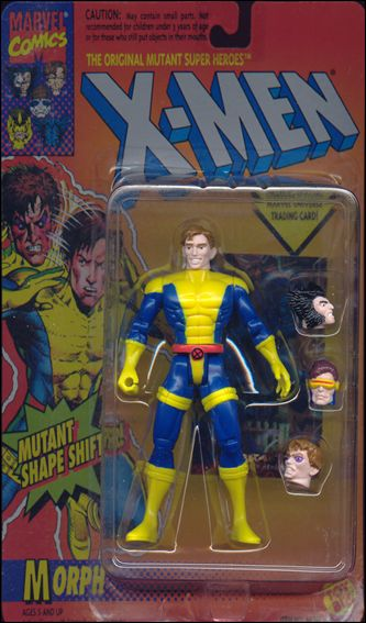 "X-Men 5"" Action Figures Morph by Toy Biz"