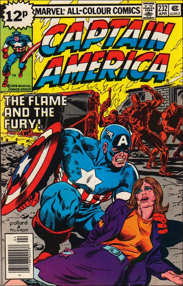 Captain America (1968) 232-B by Marvel