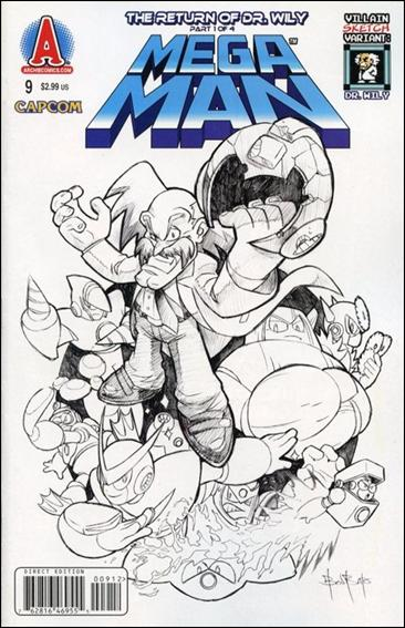 Mega Man 9-B by Archie