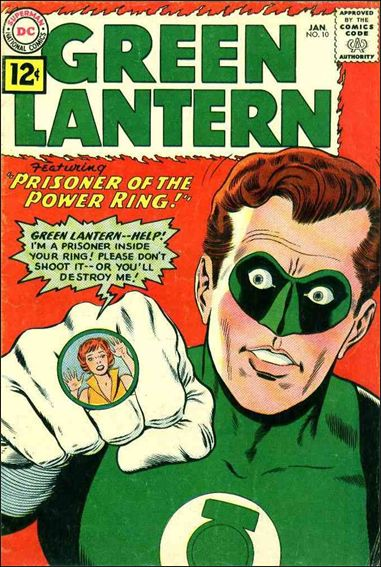 Green Lantern (1960) 10-A by DC