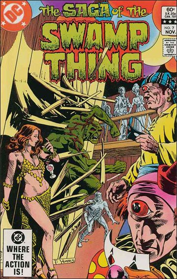 Saga of the Swamp Thing 7-A by DC