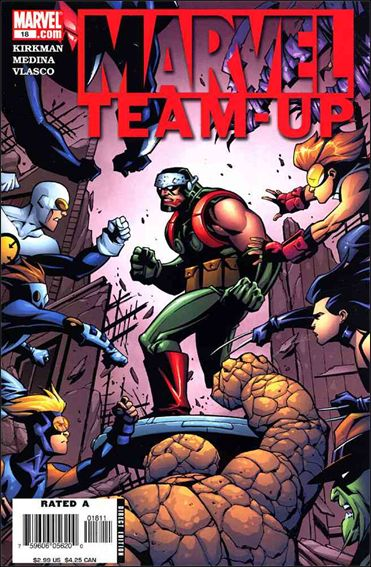 Marvel Team-Up (2005) 18-A by Marvel
