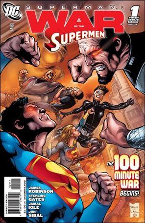 Superman: War of the Supermen 1-A