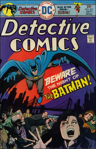 Detective Comics (1937) 451-A by DC