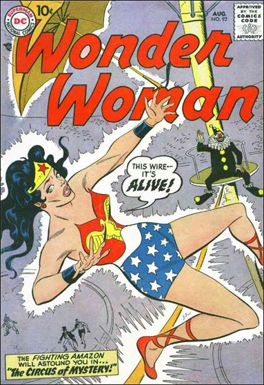 Wonder Woman (1942) 92-A by DC
