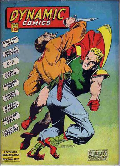 Dynamic Comics (1941) 3-A by Harry A. Chesler