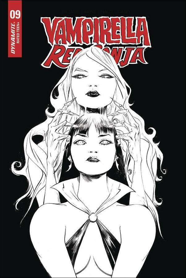 Vampirella / Red Sonja 9-N by Dynamite Entertainment