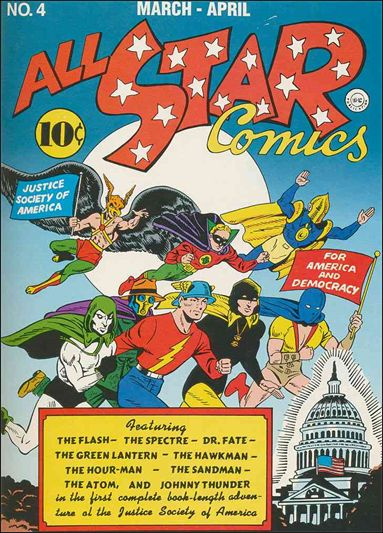 All Star Comics (1940) 4-A by DC