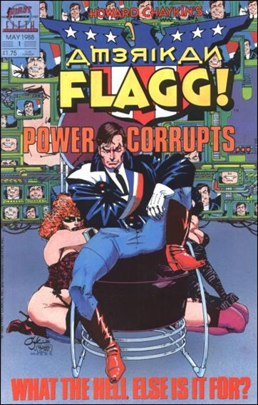 American Flagg! (1988) 1-A by First