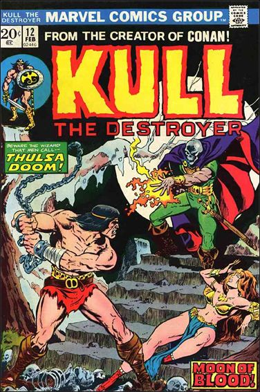 Kull the Destroyer 12-A by Marvel