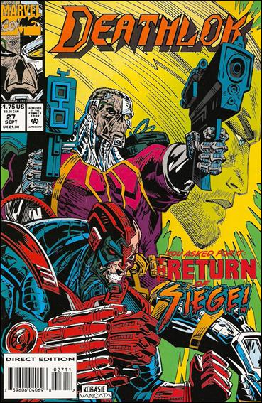 Deathlok (1991) 27-A by Marvel