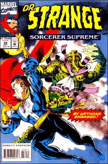 Doctor Strange, Sorcerer Supreme 58-A by Marvel