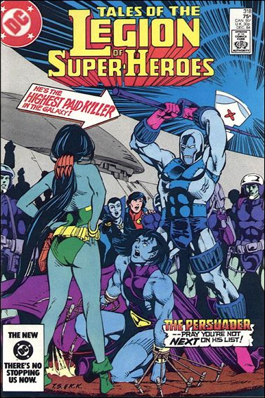 Tales of the Legion of Super-Heroes 318-A by DC