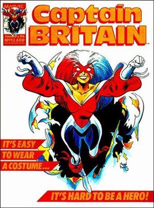 Captain Britain (UK) (1985) 13-A