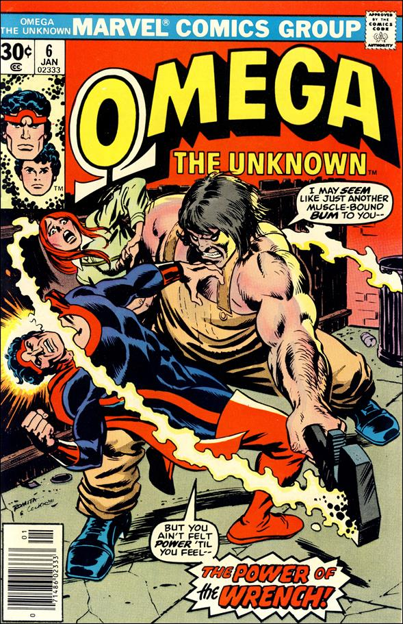 Omega: The Unknown (1976) 6-A by Marvel
