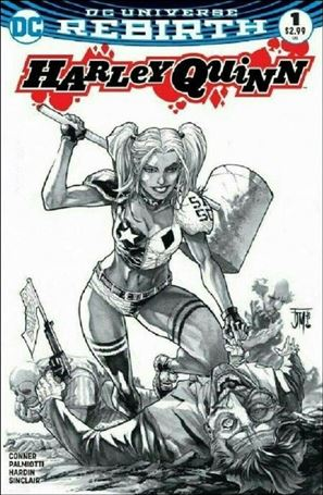 Harley Quinn (2016) 1-SW