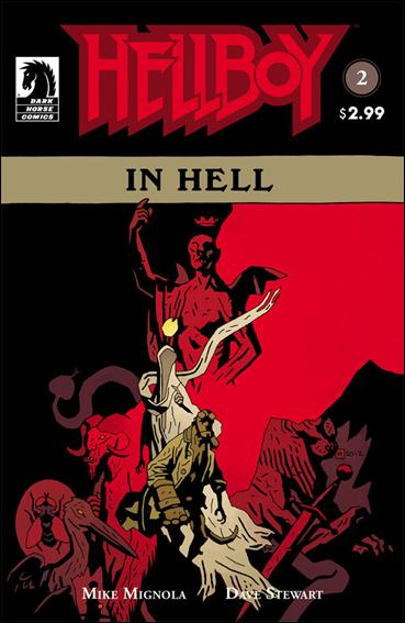 Hellboy in Hell 2-B by Dark Horse