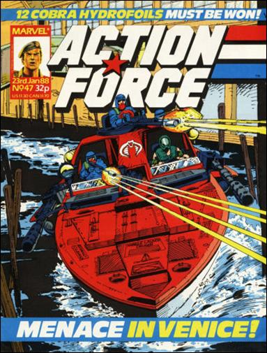 Action Force (UK) 47-A by Marvel UK