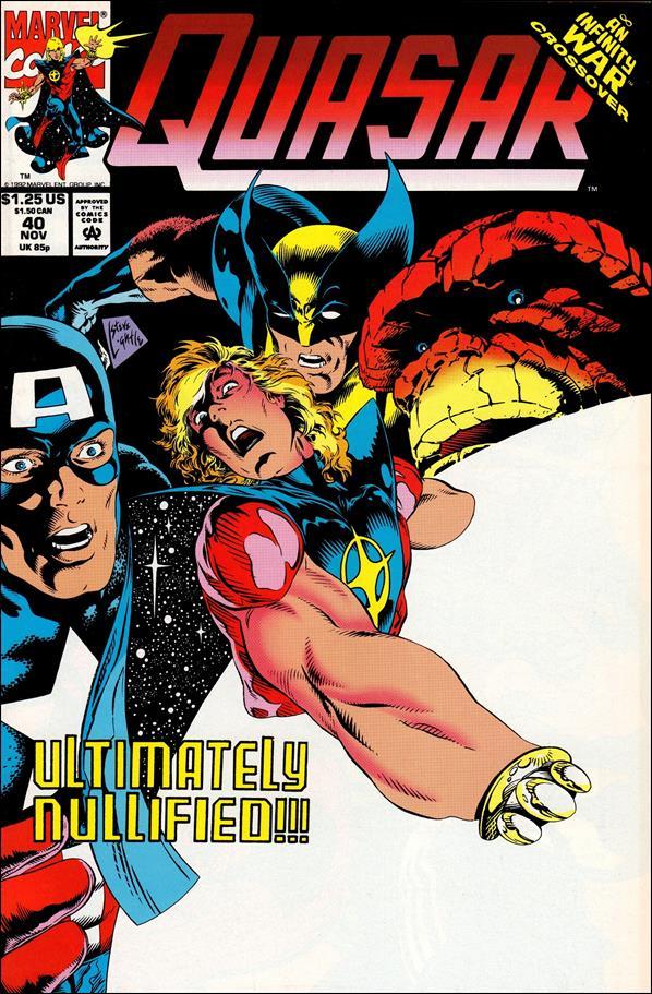 Quasar 40-A by Marvel