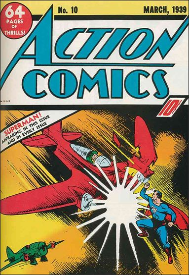 Action Comics (1938) 10-A by DC