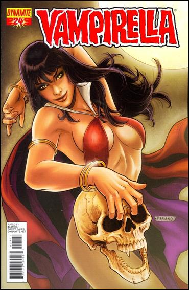 Vampirella (2010) 24-A by Dynamite Entertainment