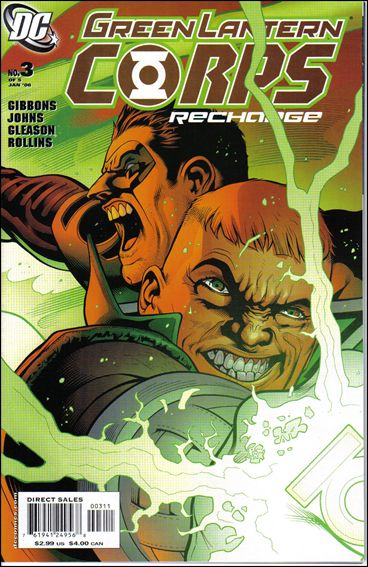 Green Lantern Corps: Recharge 3-A by DC