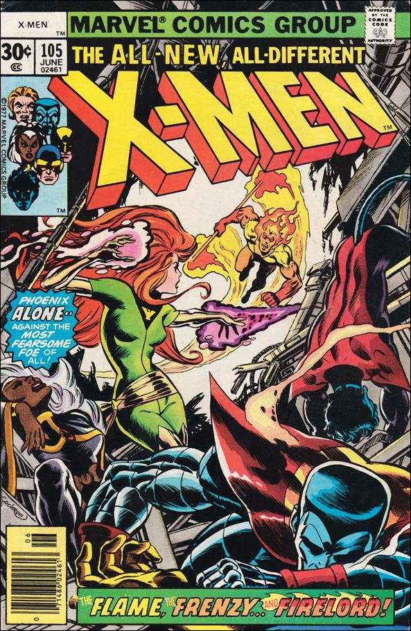 X-Men (1963) 105-A by Marvel