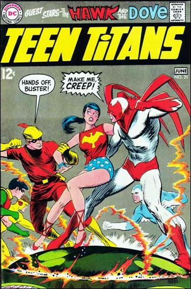 Teen Titans (1966) 21-A by DC