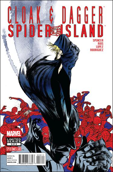 Spider-Island: Cloak & Dagger 3-A by Marvel