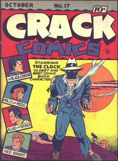 Crack Comics 17-A by Quality
