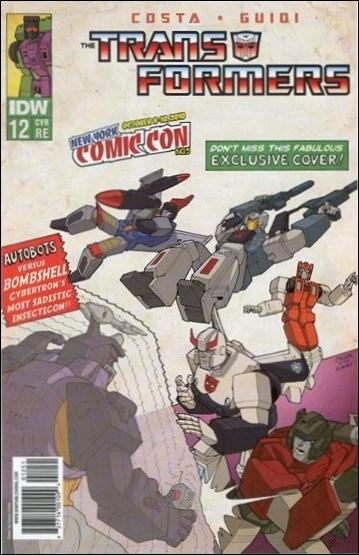 Transformers (2009) 12-D by IDW