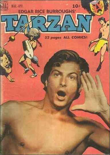 Tarzan (1948) 14-A by Dell