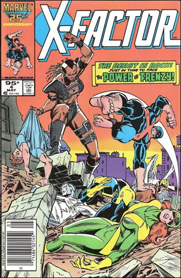 X-Factor (1986) 4-B by Marvel