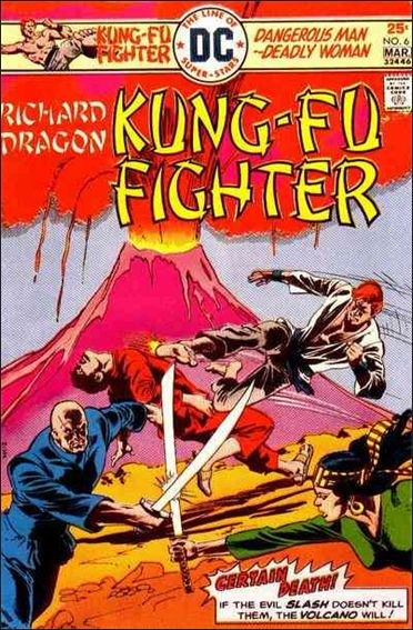 Richard Dragon, Kung-Fu Fighter 6-A by DC