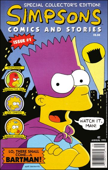 Simpsons Comics and Stories 1-D by Welsh Publishing Group