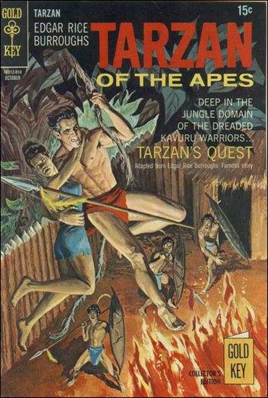 Tarzan (1962) 188-A by Gold Key