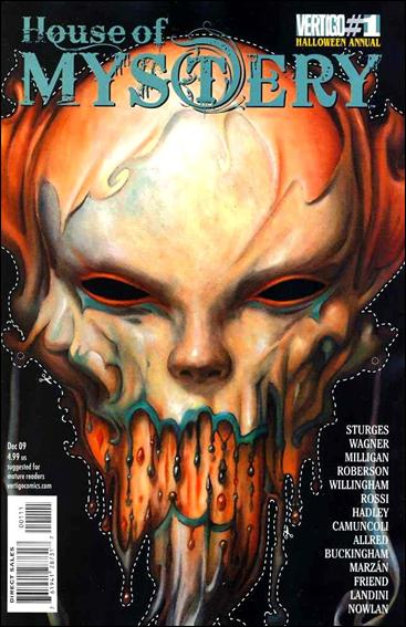 House of Mystery Halloween Annual 1-A by Vertigo