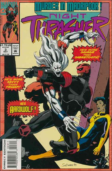 Night Thrasher 3-A by Marvel
