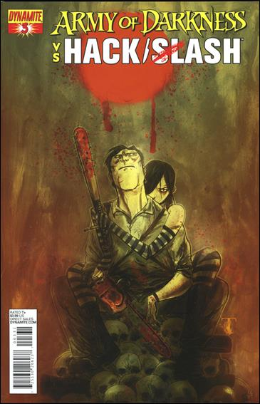 Army of Darkness vs. Hack/Slash 3-C by Dynamite Entertainment