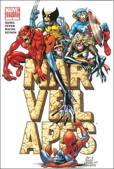 Marvel Apes 1-B by Marvel