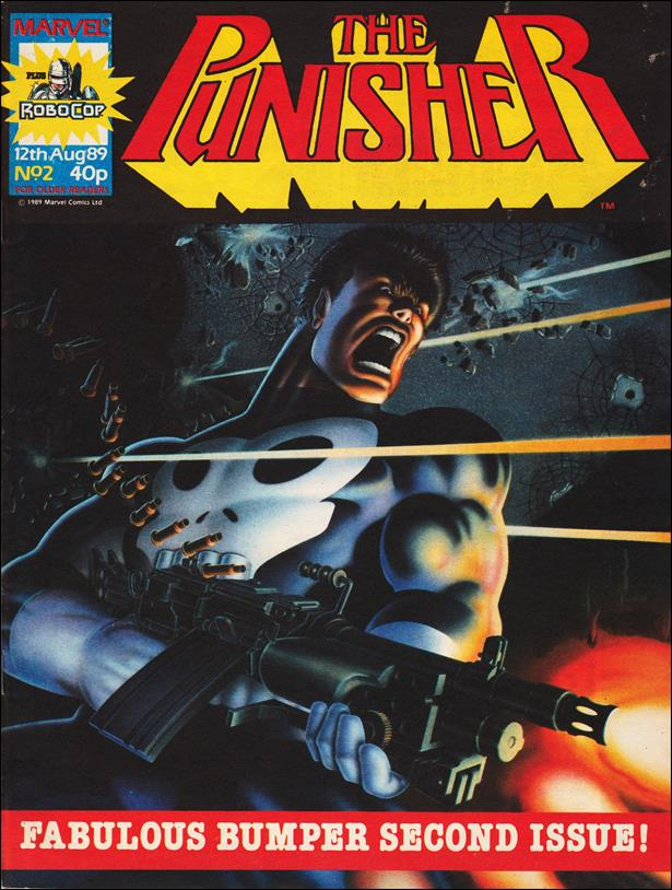 Punisher (UK) 2-A by Marvel UK