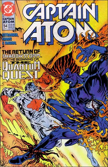 Captain Atom (1987) 54-A by DC
