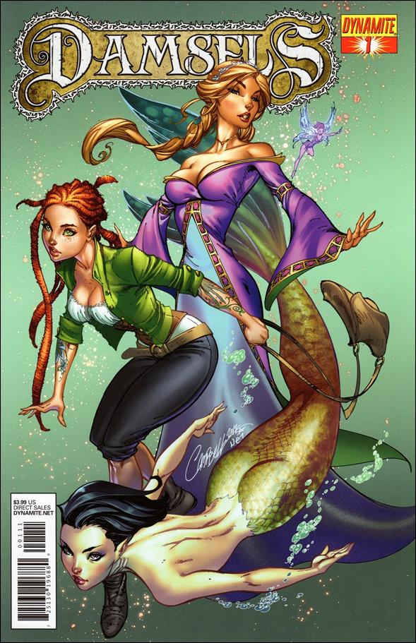 Damsels 1-A by Dynamite Entertainment