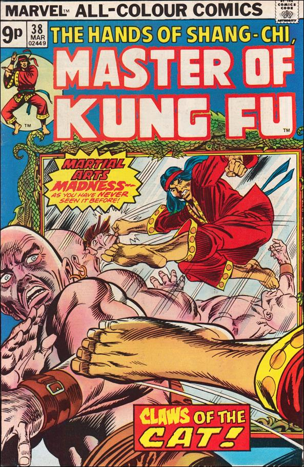 Master of Kung Fu 38-B by Marvel