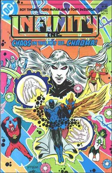 Infinity Inc. (1984) 14-A by DC